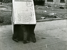 Untitled, New York (boys playing in box)