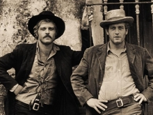 Robert Redford and Paul Newman, Butch Cassidy and the Sundance Kid, 1968