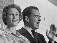 Richard Nixon and his Wife, 1960