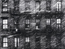 Falling Snow - Boy in the Window, 1952