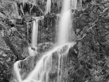 Chris Killip, Waterfall in a Former Quarry, Laxey 1971