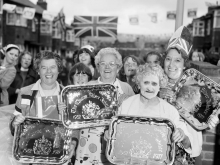 Chris Killip, Celebrating the Queen's Silver Jubilee, North Shields, Tyneside 1977