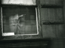 Untitled, New York (hand in window)