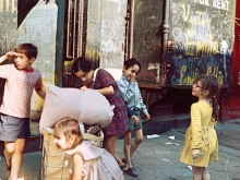 Untitled, New York (laundry bags and kids), 1972