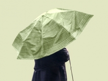 Woman with Umbrella, 2002