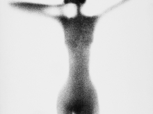 Nude on White Background 7, 1954