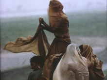 Monsoon Rains, Monghyr, Bihar, 1967